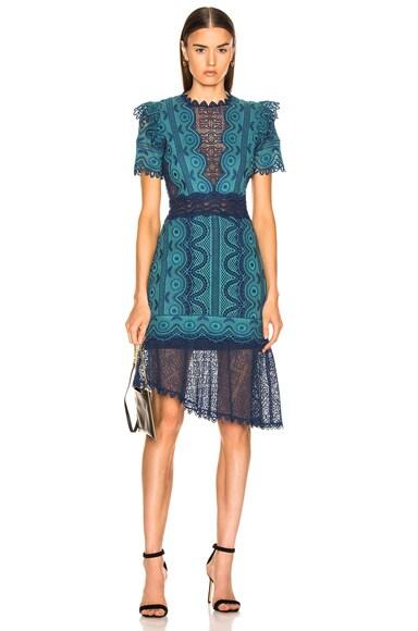 Lola Lace Short Sleeve Dress