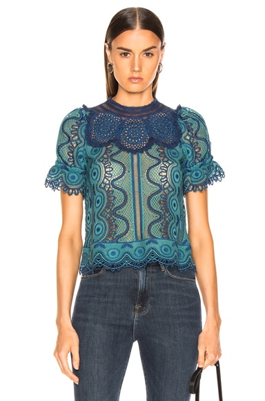 Lola Lace Puff Sleeve Top