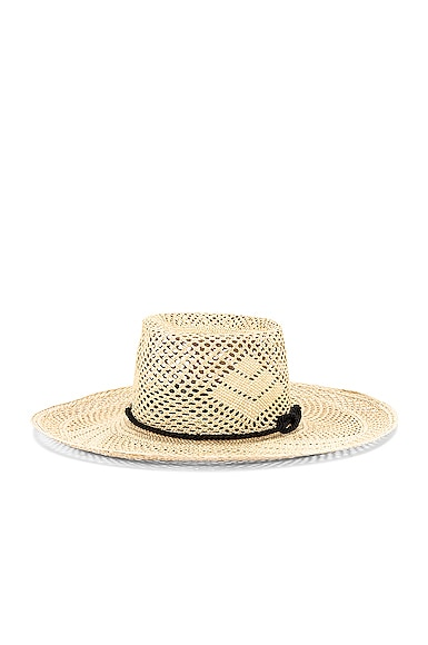 Boater Adjustable Cord Hat