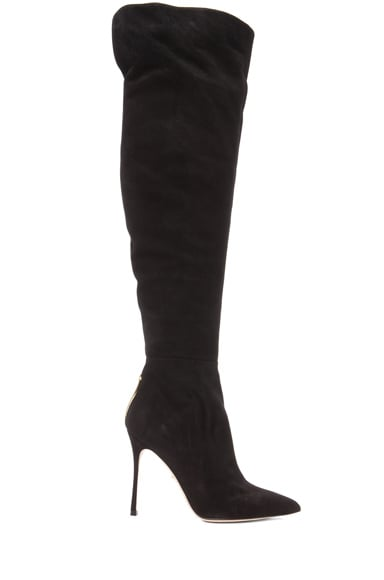 Blink Suede Over The Knee Boots