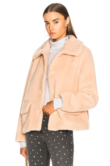 Clyde Faux Fur Coat