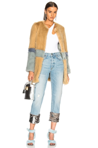 Garfunkel Faux Fur Coat