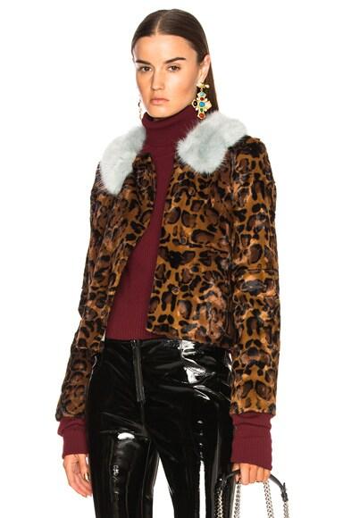 Faux Fur Betsy Jacket