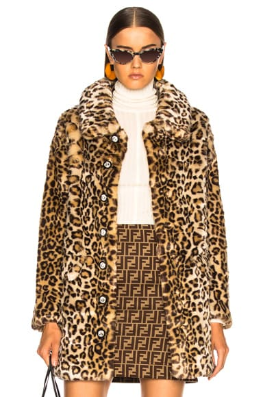 Faux Fur Paddy Coat