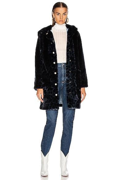 Gloria Faux Fur Coat