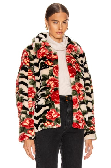 Zio Faux Fur Coat