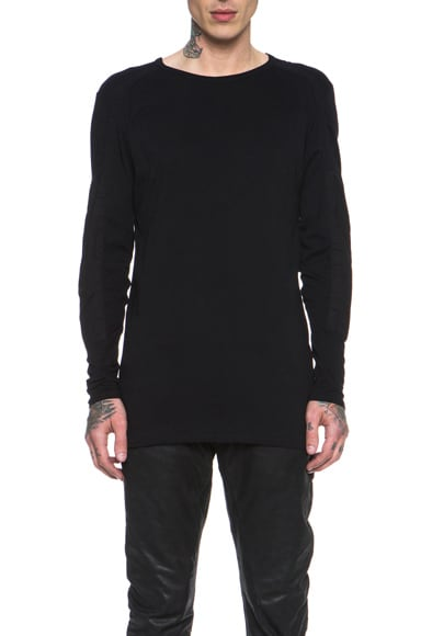 Paneled Long Sleeve