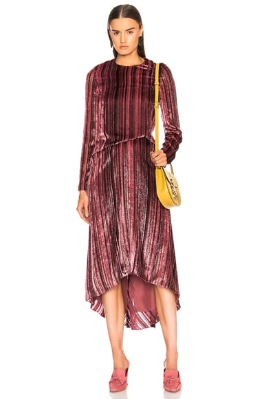 Maude Long Sleeve Pick Dress