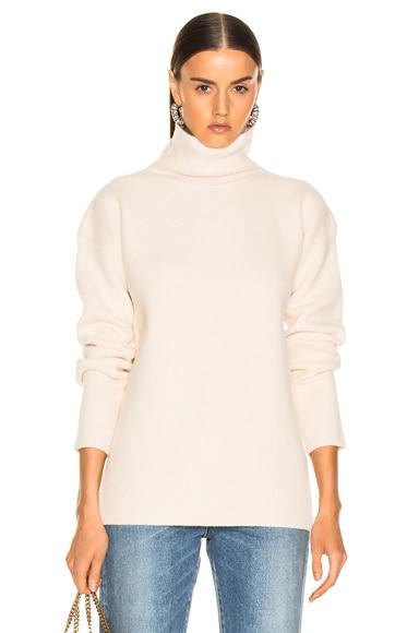 Wolf Merino Turtleneck Sweater