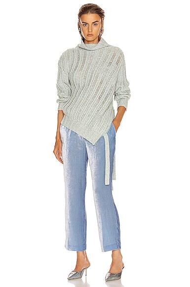 Nancy Cashmere Turtleneck Sweater