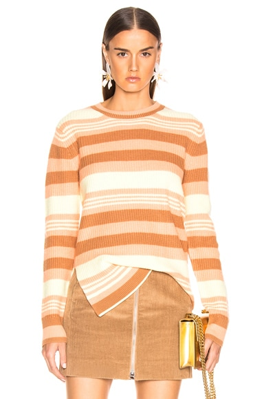 Shay Striped Pick Up Sweater