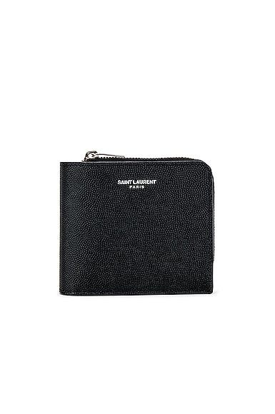 Zip Around East West Wallet