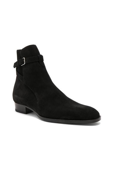 Wyatt Suede Jodhpur Boots