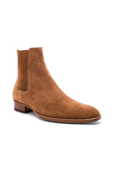Suede Wyatt 30 Chelsea Boots