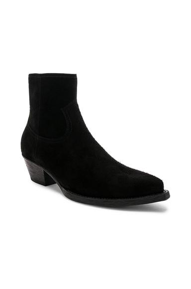 Suede Lukas 40 Zip Boots