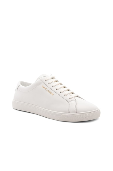 Leather Andy Low-Top Sneakers