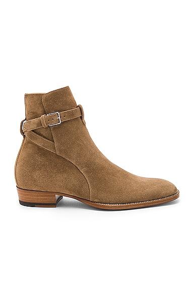 Suede Wyatt Jodhpur Boots