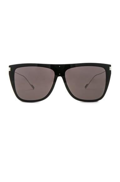Bold Oversized Flat-Top Sunglasses