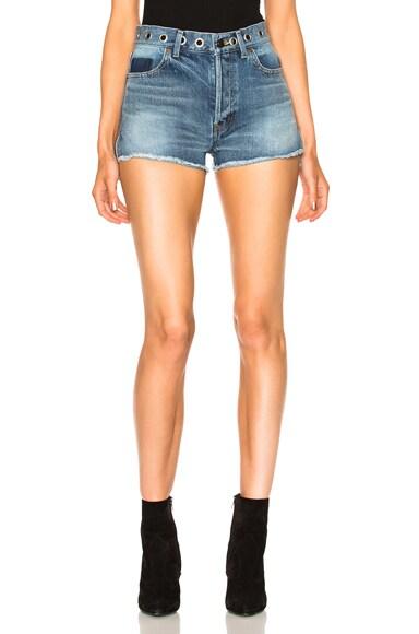 Boyfriend Eyelet Shorts