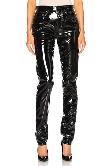 Vinyl Skinny Jeans