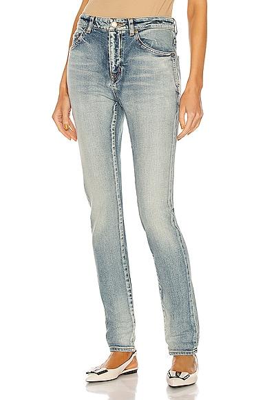 Saint Laurent Skinny jeans MEDIUM WAIST SKINNY JEAN