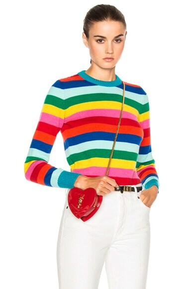 Rainbow Stripe Sweater