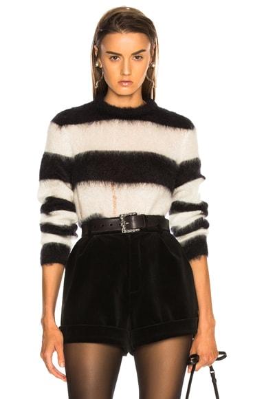 Mohair Chevron Sweater