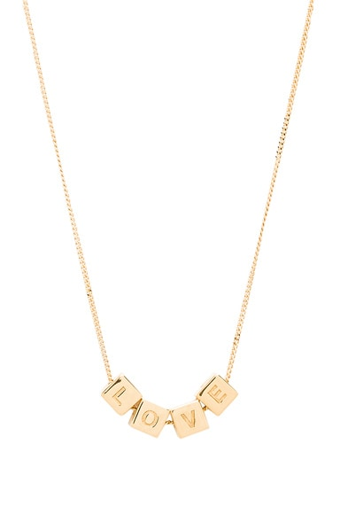 Cube Love Necklace