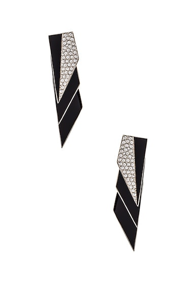 Layered Art Deco Earrings