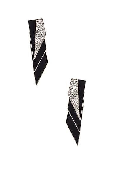 Layered Art Deco Earrings