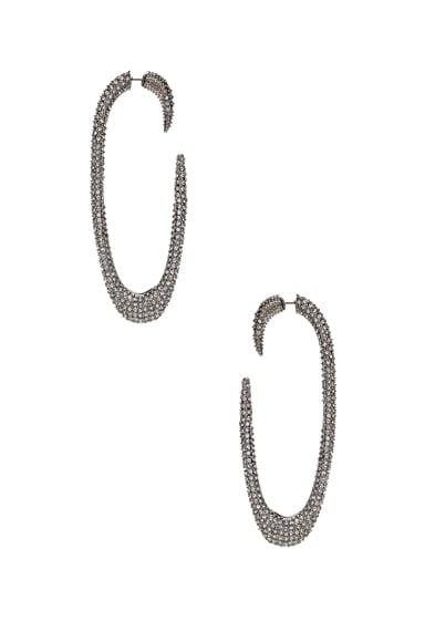 Embellished Hook Earrings