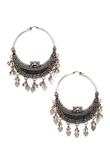 Oversized Demi Lune Earrings