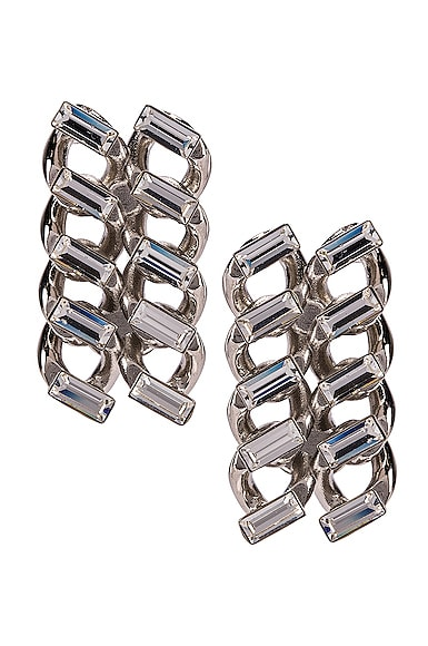 Chain Clip Earrings