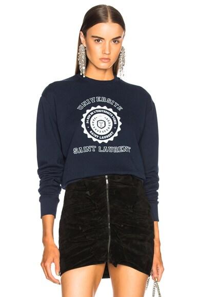 Crewneck University Sweatshirt