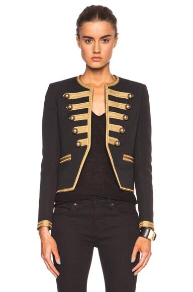 Officer Cotton-Blend Jacket
