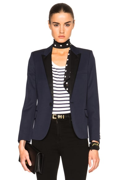 Single Button Tuxedo Jacket