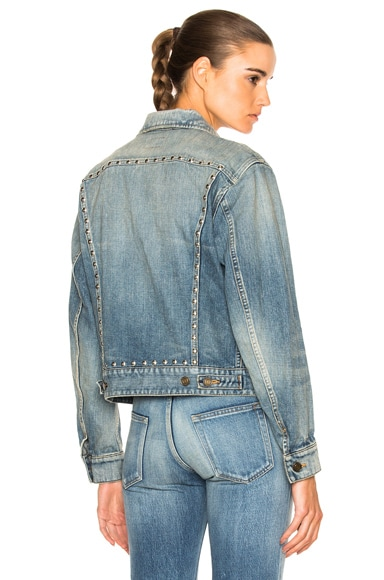BF Studded Denim Jacket