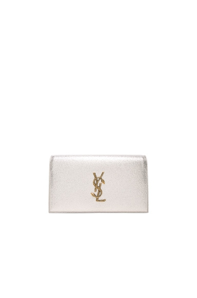 Monogramme Metallic Serpent Clutch