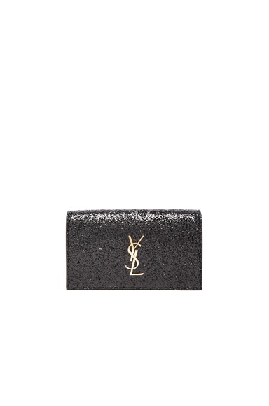 Monogramme Glitter Kate Clutch