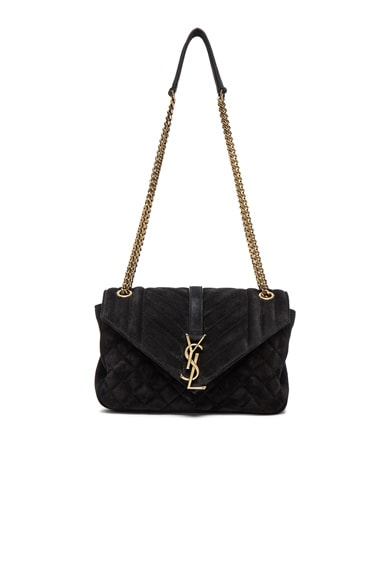 Medium Monogram Slouchy Suede Chain Bag