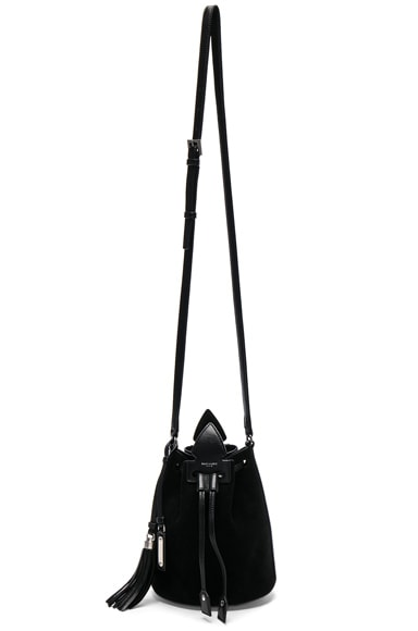 Anja Suede Bucket Bag