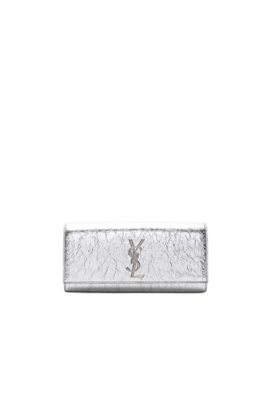 Metallic Monogramme Kate Clutch