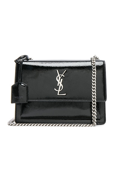 Medium Patent Monogramme Sunset Chain Bag