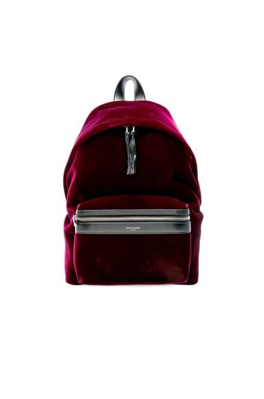 Mini Velvet City Backpack