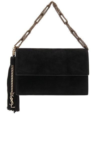 Small Suede Chain Bag