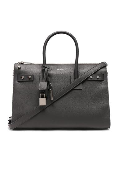 Small Zipped Supple Sac de Jour Duffel Bag