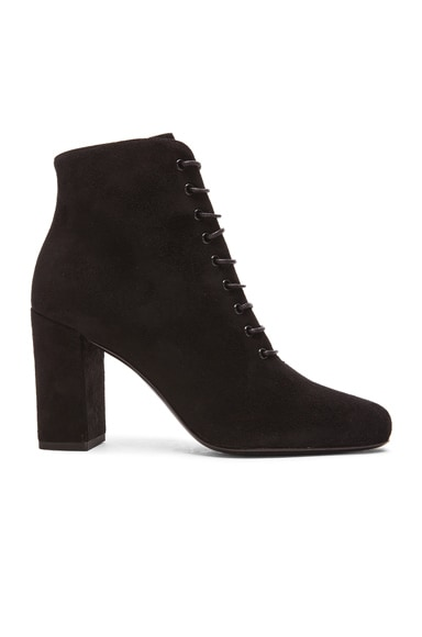 Suede Lace Up Babies Boots