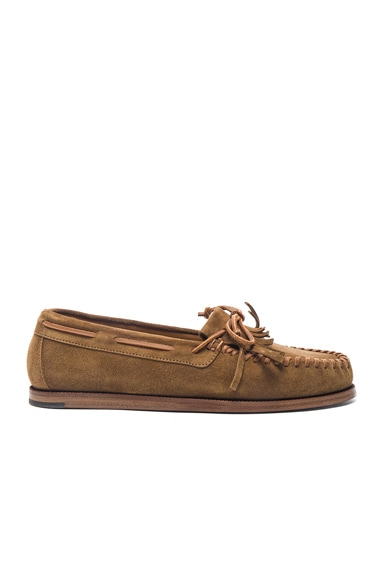 Suede Indian Moccasins