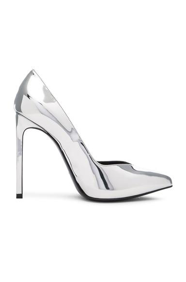 Leather Paris Skinny Heels