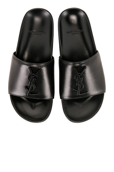 Leather Joan Slides